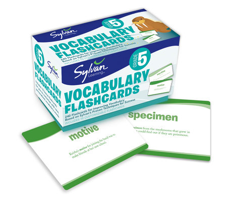 Fifth Grade Vocabulary Flashcards by Sylvan Learning
