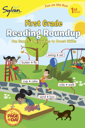 First Grade Reading Roundup (Sylvan Fun on the Run Series) by