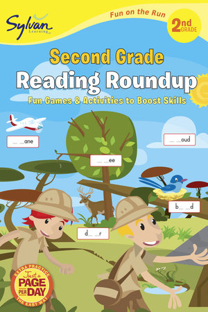 Second Grade Reading Roundup (Sylvan Fun on the Run Series) by