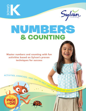 Kindergarten Numbers & Counting (Sylvan Workbooks) by Sylvan Learning