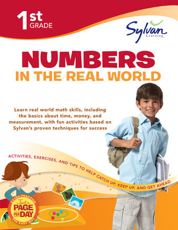 First Grade Numbers in the Real World (Sylvan Workbooks) by