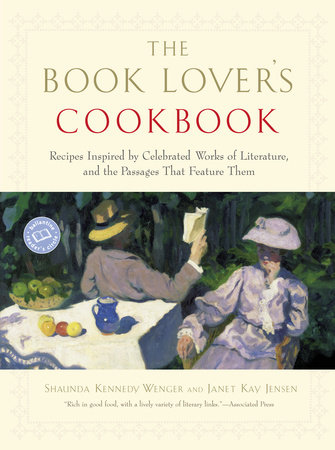 The Book Lover's Cookbook by Janet Jensen and Shaunda Kennedy Wenger