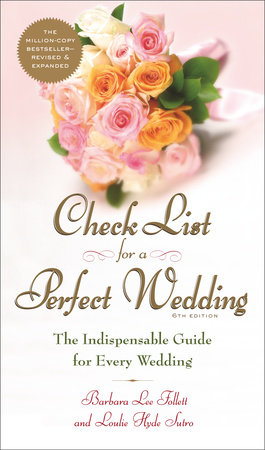 Check List for a Perfect Wedding, 6th Edition by