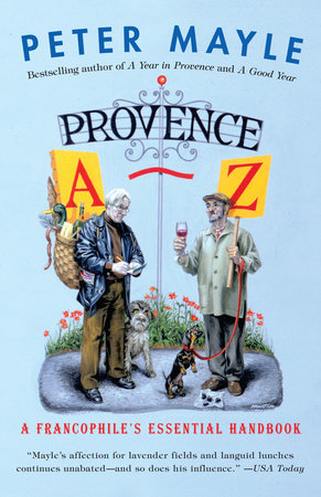 Provence A-Z by Peter Mayle