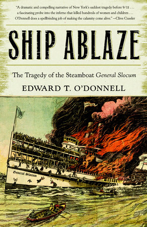 Ship Ablaze by
