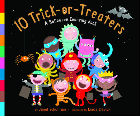 10 Trick-or-Treaters by