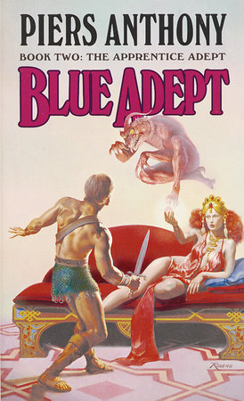 Blue Adept by