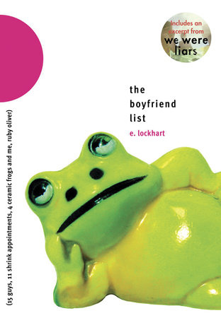 The Boyfriend List by E. Lockhart