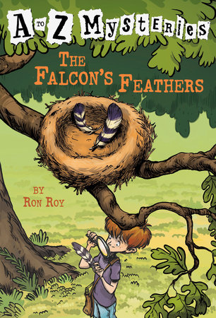 A to Z Mysteries: The Falcon's Feathers