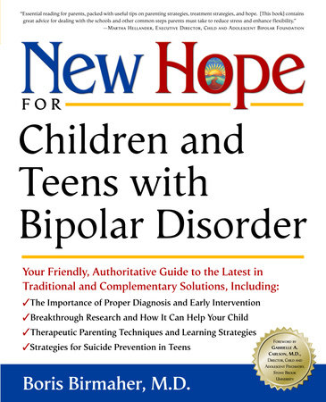 New Hope for Children and Teens with Bipolar Disorder by