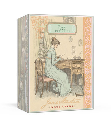 Jane Austen Note Cards - Pride and Prejudice by