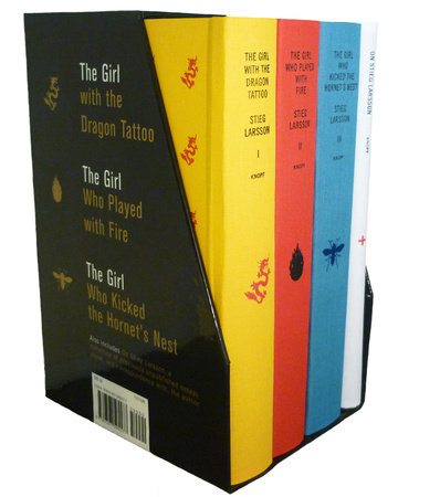 Stieg Larsson's Millennium Trilogy Deluxe Boxed Set by