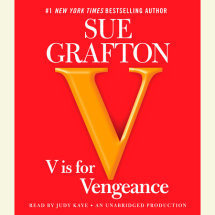 V is for Vengeance Cover