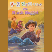 A to Z Mysteries: The Ninth Nugget Cover