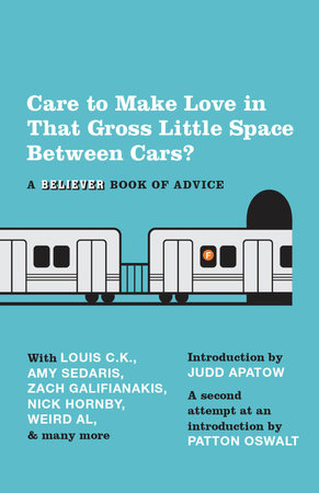 Care To Make Love In That Gross Little Space Between Cars? by
