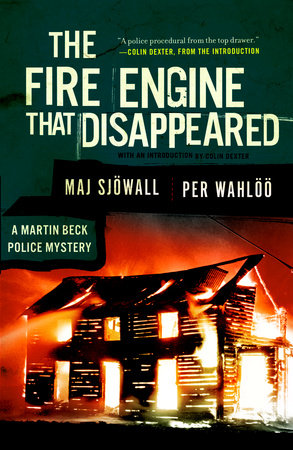 The Fire Engine that Disappeared by Per Wahloo and Maj Sjowall