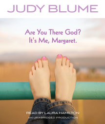 Are You There God? It's Me, Margaret. Cover