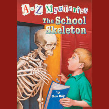 A to Z Mysteries: The School Skeleton Cover