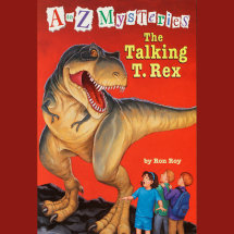 A to Z Mysteries: The Talking T. Rex Cover