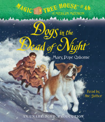 Magic Tree House #46: Dogs in the Dead of Night Cover
