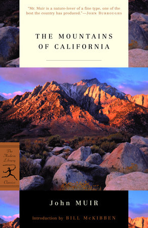 The Mountains of California by