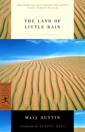 The Land of Little Rain by