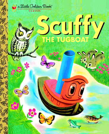 Scuffy the Tugboat (Personalized Book)