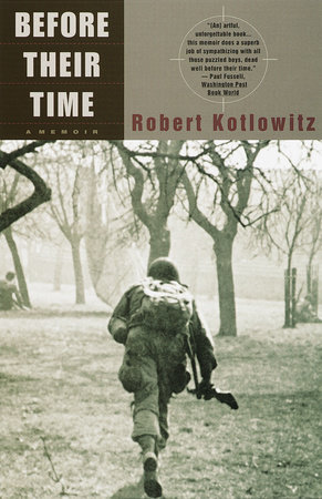Before Their Time by Robert Kotlowitz