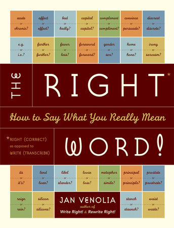 The Right Word! by