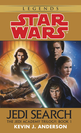 Jedi Search: Star Wars (The Jedi Academy) by Kevin Anderson