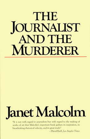 The Journalist and the Murderer by