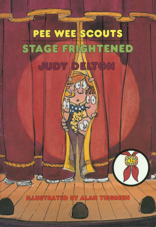 Pee Wee Scouts: Stage Frightened by Judy Delton