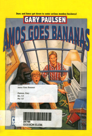 AMOS GOES BANANAS by Gary Paulsen