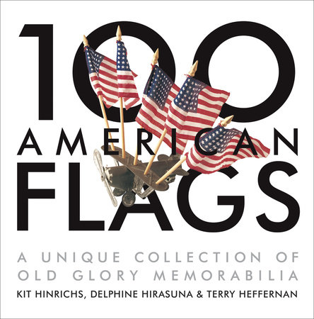 100 American Flags by
