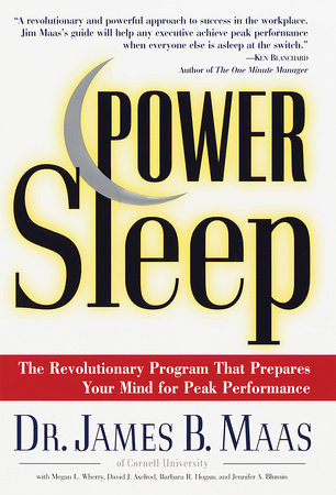 Power Sleep by David J. Axelrod