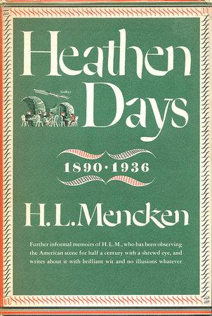 Heathen Days by