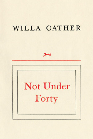 Not Under Forty by