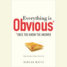 Everything Is Obvious Cover