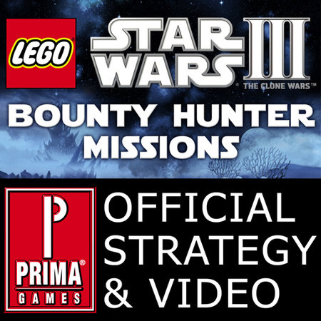 Lego Star Wars III: The Clone Wars - Bounty Hunter Missions Video Strategy and all Gold Bricks by Prima Games (iPhone/iPad App) by