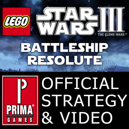 Lego Star Wars III: The Clone Wars - Battleship Resolute: All Red Bricks Strategy & Video by Prima Games (iPhone/iPad App) by