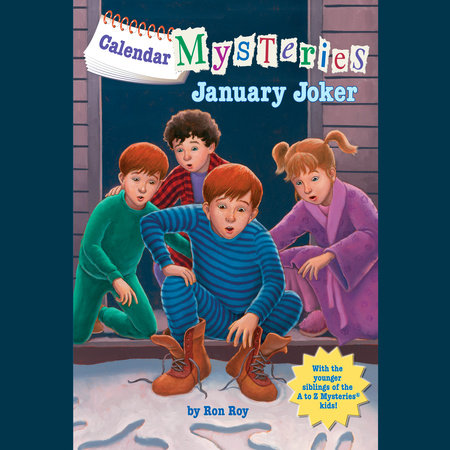 Calendar Mysteries #1: January Joker by Ron Roy