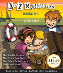 A to Z Mysteries: Books D-G Cover