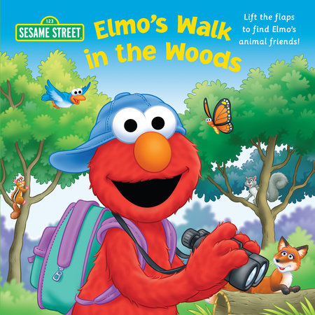 Elmo's Walk in the Woods (Sesame Street) by Naomi Kleinberg