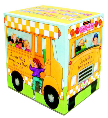 Junie B.'s Books in a Bus! (Books 1-27!) by