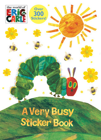A Very Busy Sticker Book (The World of Eric Carle) by Golden Books