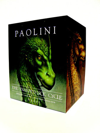 Inheritance Cycle 4-Book Hard Cover Boxed Set (Eragon, Eldest, Brisingr, Inheritance) by