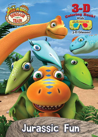 Jurassic Fun (Dinosaur Train) by Golden Books