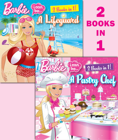 I Can Be a Pastry Chef/I Can Be a Lifeguard (Barbie) by