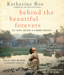 Behind the Beautiful Forevers Cover