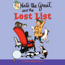 Nate the Great and the Lost List Cover